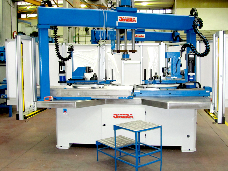 R-1200 Servo Machine for Road Sign Manufacturing