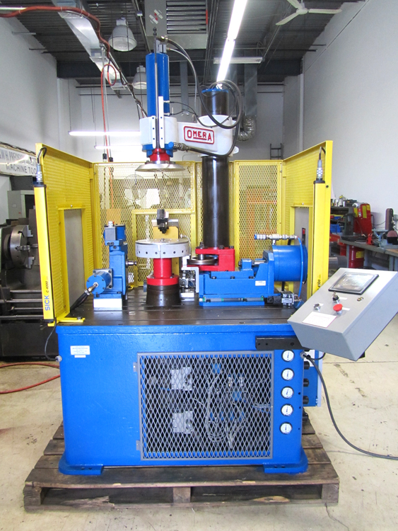 Rebuilt Machine with Servo and Pneumatic Slides