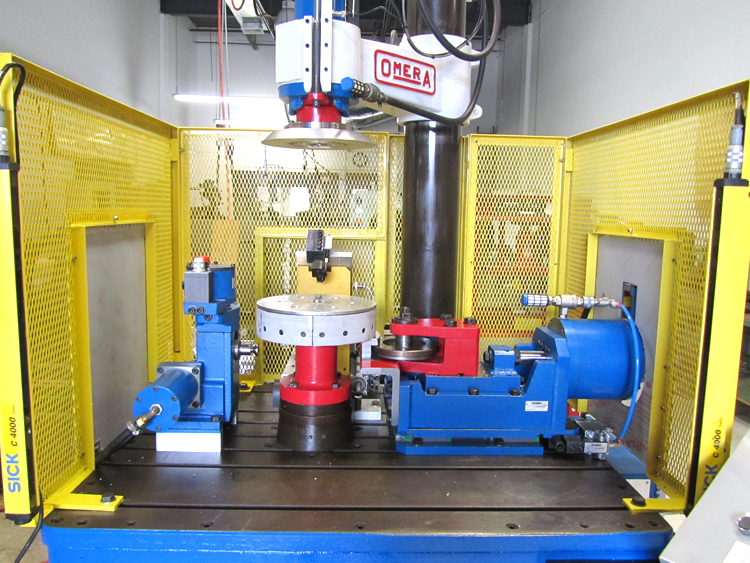 Expanding Tool with Pneumatic Slides